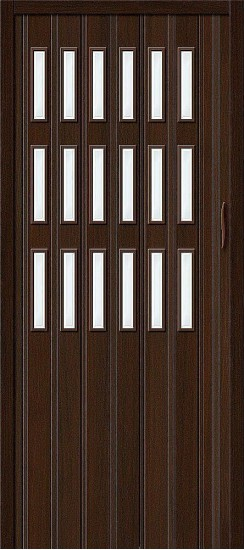 Дверь-книжка Браво-018 Венге