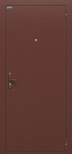 Металлическая дверь Билд Антик Медь/М-11 (ИталОрех)
