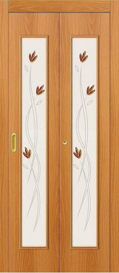 Дверь-книжка 22Х Л-12 (МиланОрех) Худ.