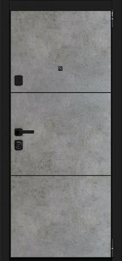 Металлическая дверь Porta M П50.П50 (AB-4) Dark Concrete/Angel