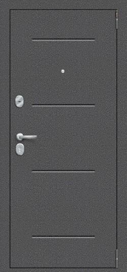 Металлическая дверь Porta S 104.К32 Антик Серебро/Cappuccino Veralinga