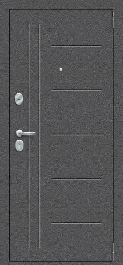 Металлическая дверь Porta S 109.П29 Антик Серебро/Cappuccino Veralinga