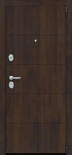 Металлическая дверь Porta S 4.П22 (Прайм) Almon 28/Cappuccino Veralinga