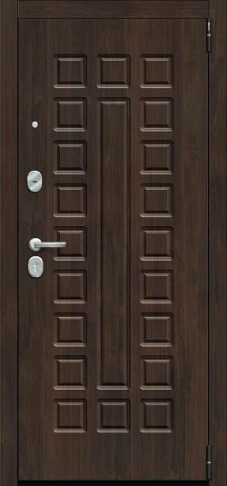 Металлическая дверь Porta S 51.П61 (Урбан) Almon 28/Wenge Veralinga