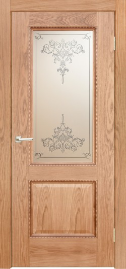 Дверь межкомнатная Эллада Натуральный дуб