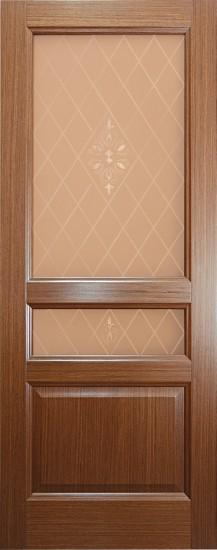 Дверь межкомнатная Готика Орех