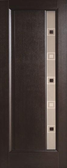 Дверь межкомнатная Октава Венге