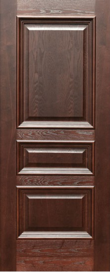 Дверь межкомнатная Равена Дуб коньяк