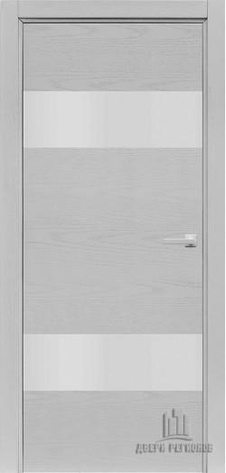 Дверь межкомнатная Duo Chiaro (Ral 9003)