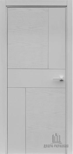Дверь межкомнатная Fusion Chiaro Patina Argento (Ral 9003)