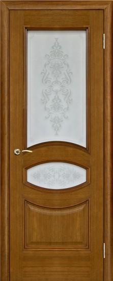Дверь межкомнатная Ницца Пескоструй Античный дуб