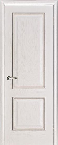 Дверь межкомнатная Шервуд Белая патина