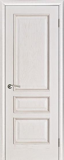 Дверь межкомнатная Вена Белая патина