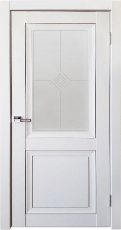 Дверь межкомнатная Деканто 1 Синий бархат