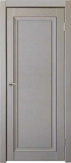 Дверь межкомнатная Деканто 2 Серый бархат