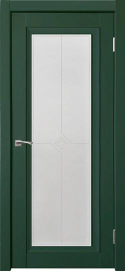 Дверь межкомнатная Деканто 2 Зеленый бархат