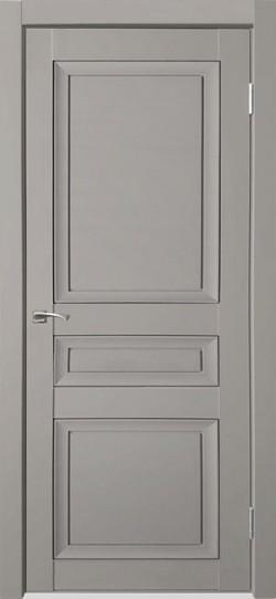 Дверь межкомнатная Деканто 3 Серый бархат