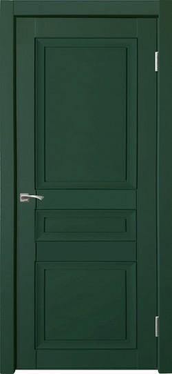 Дверь межкомнатная Деканто 3 Зеленый бархат