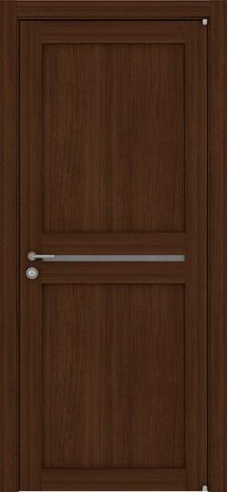 Дверь межкомнатная LIGHT 2109 Орех вельвет