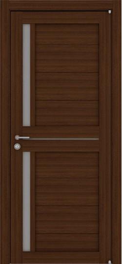Дверь межкомнатная LIGHT 2121 Орех вельвет