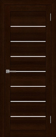 Дверь межкомнатная LIGHT 2125 Дуб шоколадный