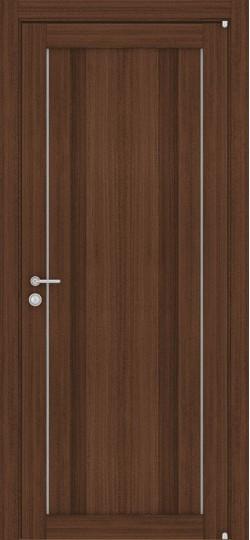 Дверь межкомнатная LIGHT 2190 Орех вельвет