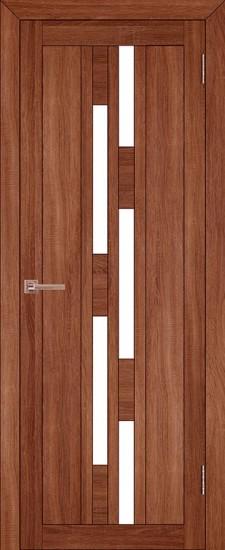 Дверь межкомнатная LIGHT 2198 Орех вельвет