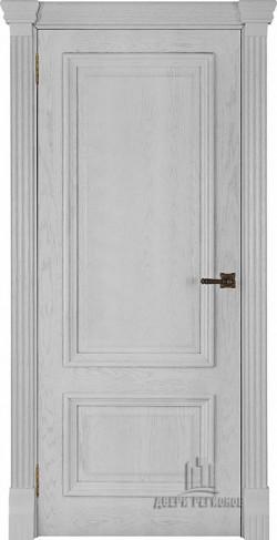 Дверь межкомнатная Корсика Дуб Perla