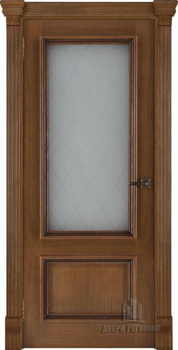 Дверь межкомнатная Корсика Квадро Дуб Patina Antico