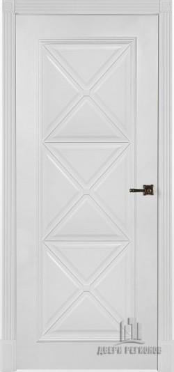 Дверь межкомнатная Багет 17 Эмаль белая