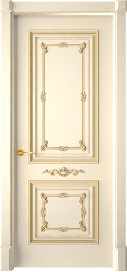 Дверь межкомнатная Багет 31 Эмаль слоновая кость