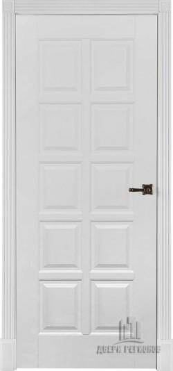 Дверь межкомнатная Калифорния Эмаль белая