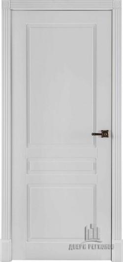 Дверь межкомнатная Прага Эмаль белая