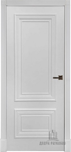 Дверь межкомнатная Престиж 1/2 Эмаль белая
