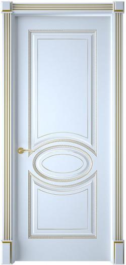 Дверь межкомнатная Верона 4 Эмаль белая