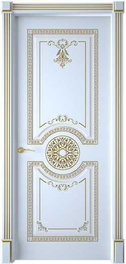 Дверь межкомнатная Версаль Эмаль белая