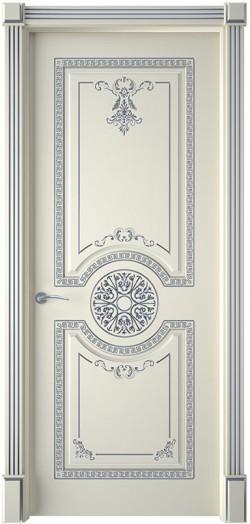 Дверь межкомнатная Версаль Эмаль слоновая кость
