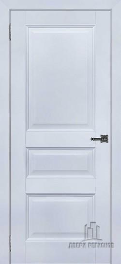 Дверь межкомнатная Аликанте 2 Серый шелк (Ral 7047)