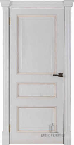 Дверь межкомнатная Гранд 2 Дуб Patina Bianco