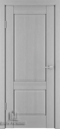 Дверь межкомнатная Баден 2 Эмаль серая (Ral 7047)