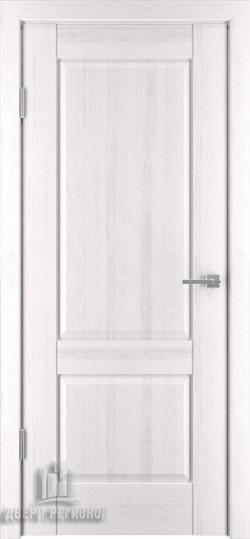 Дверь межкомнатная Баден 2 Эмаль белая (Ral 9003)