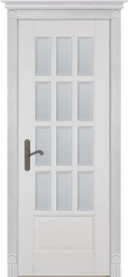 Дверь межкомнатная Грация Эмаль белая
