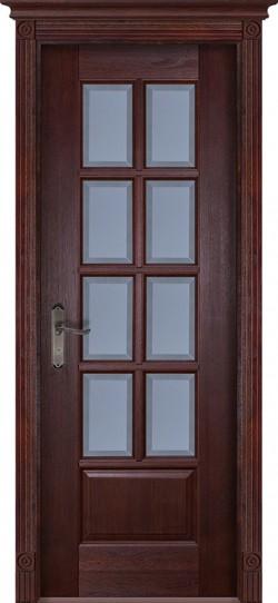 Дверь межкомнатная Грация Махагон
