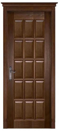 Дверь межкомнатная Лондон 2 Античный орех