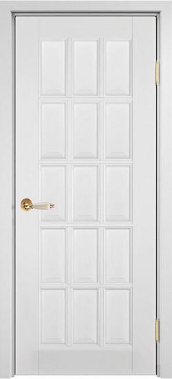 Дверь межкомнатная Лондон 2 Эмаль белая
