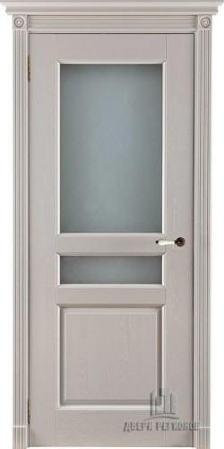 Дверь межкомнатная Виктория Эмаль слоновая кость