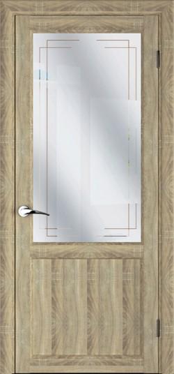 Дверь межкомнатная MASTER 57001 Дуб натуральный
