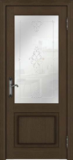 Дверь межкомнатная Palermo 400010 Дуб французский