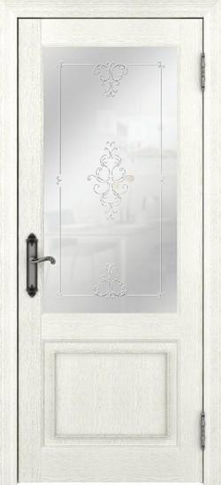 Дверь межкомнатная Palermo 400010 Ясень перламутр