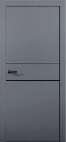 Дверь межкомнатная Палладиум Palladium 3 Антрацит